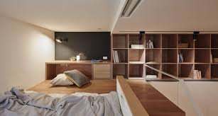 Loft Studio Apartment Tiny Studio Apartment In Taipei City With Sleeping Loft