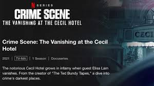 The notorious cecil hotel grows in infamy when guest elisa lam vanishes. C1tara9fnolhom