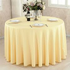 mordern polyester round table cloth fabric rectangular