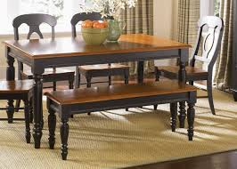 ideas collection dining tables dining room sets with bench and chairs black wood magnificent bench style dining sets