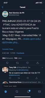 """Ada Monzón on Twitter: """"No hay aviso de tsunami pero pueden haber desalojos  preventivos. SIGA INSTRUCCIONES DE AUTORIDADES."""""""