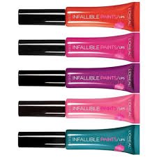 l oreal paris infallible lip paints