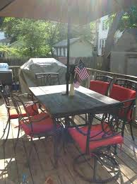 tempered glass patio table replace patio table glass tile patio table top replacement far fetched rustic