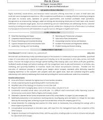 General Manager Resume Summary Examples Best of Retail Store Manageresume Cover Letter General Objective Examples