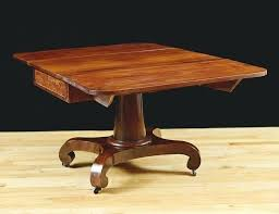 drop leaf pedestal table empire revival drop leaf dining table in mahogany international concepts round drop