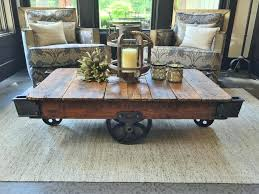 industrial trolley coffee table lineberry cartsjpg coffee table with lift top and wheels industrial trolley coffee table