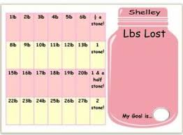 Slimming World Weight Loss Chart Details About Personalised Weight Loss Chart Slimming World Weight Watchers Stickers Pen
