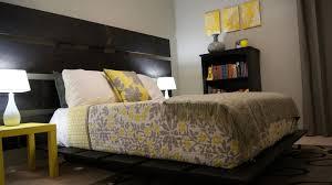 yellow and gray bedroom decor ideas