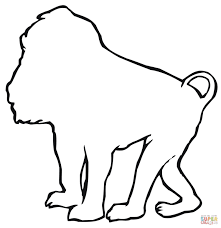 Small Picture Baboons coloring pages Free Coloring Pages
