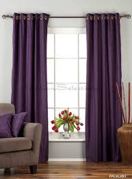 Maroon Curtains For Living Room Amazoncom Purple Ring Grommet Top Velvet Curtain Drape