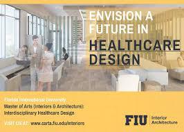 Mfa Interior Design Simple FIU CARTA Introduces A New Masters Track In Interdisciplinary Health