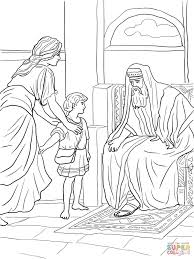 Small Picture Hannah Prays for a Son coloring page Free Printable Coloring Pages