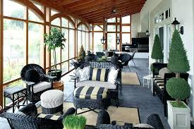 screened porch furniture. Screened In Porch Furniture Traditional With Beige