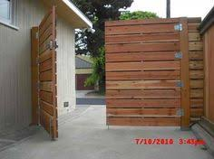 horizontal wood fence door. Wooden Driveway Gates | 1x6 Redwood Modern Horizontal Privacy Gates, With Electric . Wood Fence Door