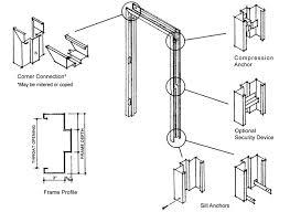 door jamb diagram. Hollow Metal Door Jamb Detail - Google Search Diagram