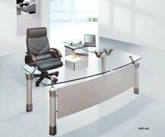 contemporary office desk glass.  Glass Spacious Office Furniture Design With Modern Desk Equipped Glass Tops  On White Doff Flooring Plan Work Comfort Comfort In Contemporary O