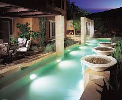 outdoor terrace lighting. Diy Pool Fountain Contemporary With Outdoor Dining Tile Travertine Lighting Terrace