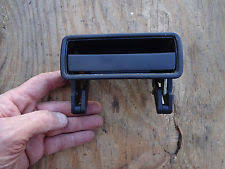 volvo 240 242 244 245 black door handle right side good shape