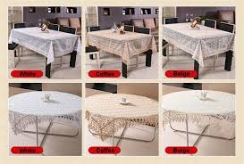 product table cloth table linen style european past shape rectangle square round home color beige yellow pure white