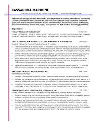 Marketing Researcher Sample Resume Market Research Resume Objective Shalomhouseus 5
