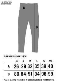 Scramble Bjj Size Chart Scramble Static Spats