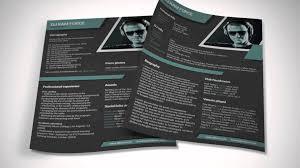 DJ Resume template Minimalistix