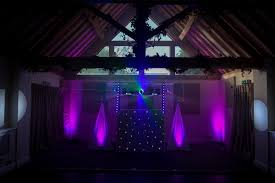 lighting set. Wedding DJ Lighting Set Up P