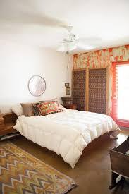 Delightful Teak Bedroom Furniture, Textile Rug And African Throw
