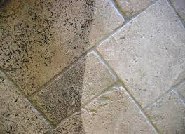 stone tile before after