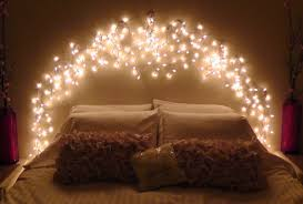 string lights for bedroom. Back To: Combining Vases And String Lights For Bedroom L