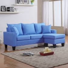 Sectional. Azure Blue