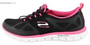 skechers shoes for girls black. skechers womens shoes / black hot pink girls glider-lynx slip- for e