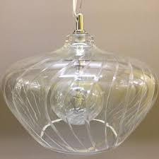 vintage french etched glass pendant ceiling light by maison