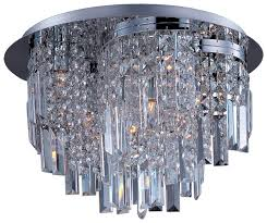 maxim 39800bcpc belvedere small 10 light contemporary crystal ceiling lighting fixture loading zoom
