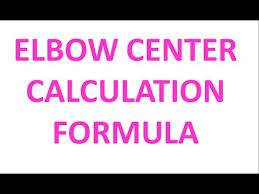 Elbow Center Calculation Formula Piping