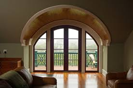 custom arched french door with sidelights mahogany aluminum cladding arched french doors r37