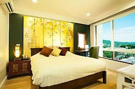 asian themed furniture. Dark Brown Wall Mounted Shelves Asian Bedroom Furniture Two Black Fabric Chairs White Tube Ceiling Lamp Themed L