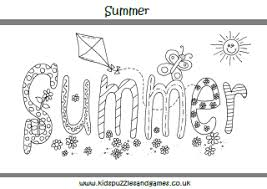 summer pictures to colour. Contemporary Pictures Summer Colouring Sheets Intended Pictures To Colour