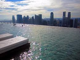 infinity pool singapore. Marina Bay Sands Skypark: Infinity Pool Singapore O