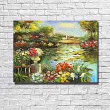 2018 hand made sea landscape oil on canvas beautiful oil painting abstract modern canvas wall art living room decor picture from dafenoilpaintingyeah
