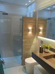 luxury bathroom lighting design tips. 12 banheiros e lavabos com porcelanato que imita madeira modern bathroom lightingmodern bathroomswall luxury lighting design tips o