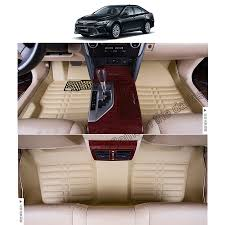 fast shipping leather car floor mat carpet rug for toyota camry ...