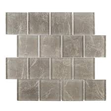jeffrey court golden valley 11 1 2 in x 11 1 2 in x 8 mm glass mosaic tile 98999 the home depot