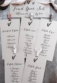 Wedding Seating Chart Kraft Wedding Seating Plan Seating
