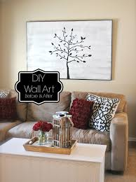 how to create large wall art