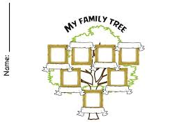 how to draw family tree family tree teacherlingo com