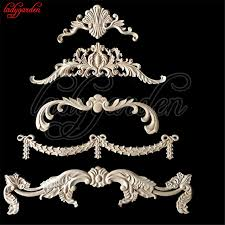 wood appliques for furniture. Unique Furniture Decorative Wood Appliques Woodcarving Furniture Vintage Home Decoration  Wooden Corner Applique Carved Long Flower Miniature Throughout For H