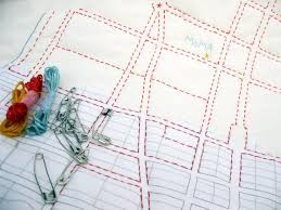 DIY - Map Quilting Kit of NYC | Haptic Lab & DIY Quilt - New York City Adamdwight.com