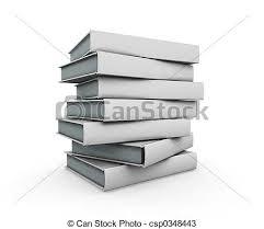 stack of books csp0348443