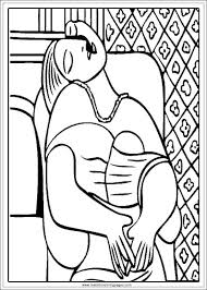 Small Picture Arts Of Picasso Printable Coloring Pages Realistic Coloring Pages